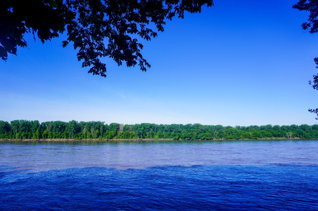 River view near Rocheport, MO.