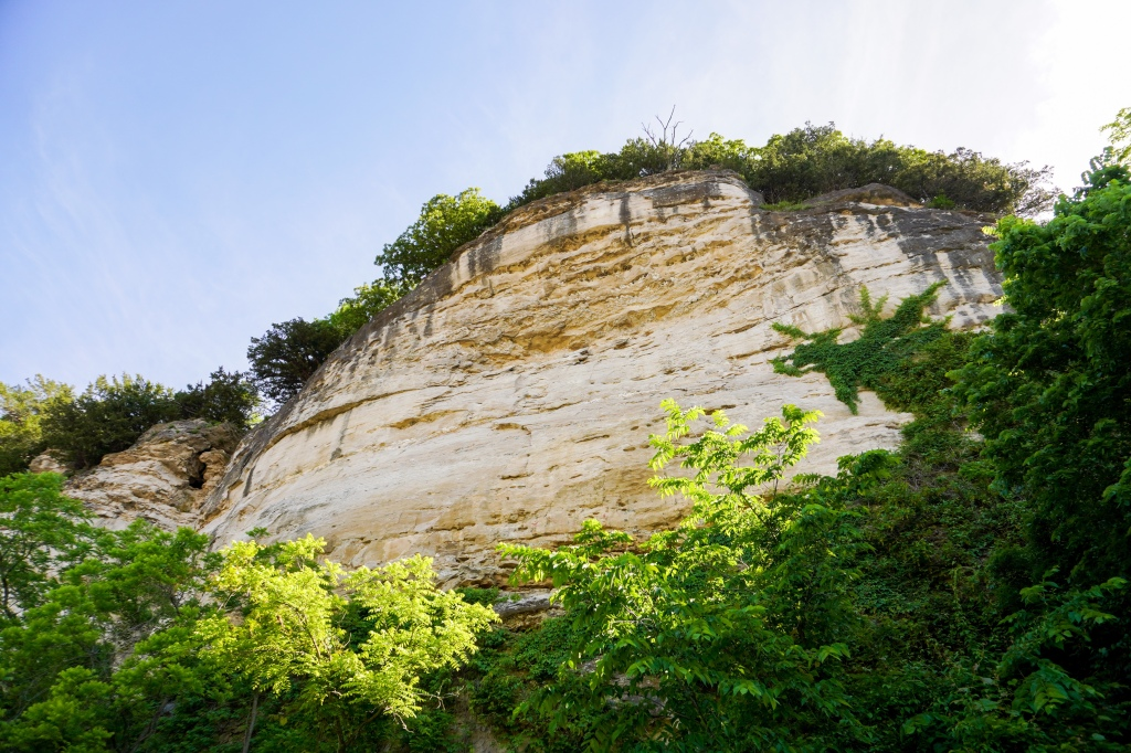 Cliff view near Rocheport, MO.